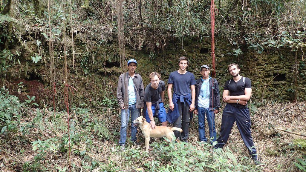 De gauche à droite, Abel, Tanguy, Cara Sucia, Yvan, Sabino et Max