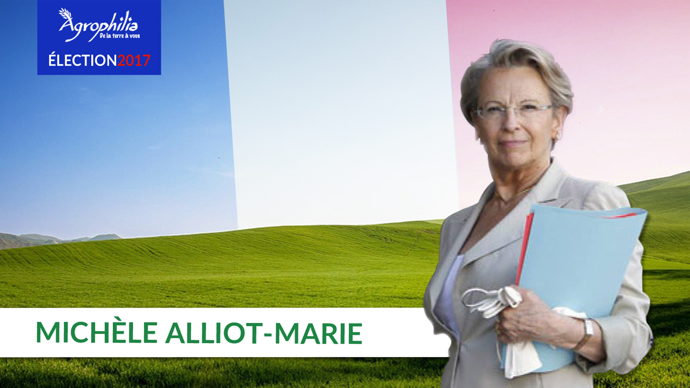 ÉLECTION2017 : MICHÈLE ALLIOT-MARIE